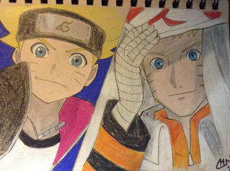 Father and Son (Boruto: Naruto the Movie)  by scootalootheotaku007