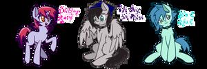 Pony OCs by scootalootheotaku007