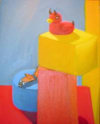 Devil Duck by bigdave2080