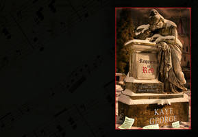 Requiem in Red - Wraparound Book Cover by SBibb