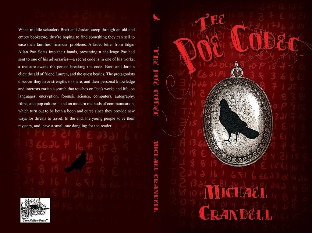 The Poe Codec - Book Cover by SBibb