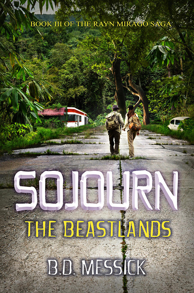 Sojourn: The Beastlands - Book Cover by SBibb