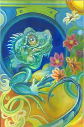 Iguana by isekersky