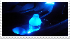 Blue stamp 2 by GoldnSunflower
