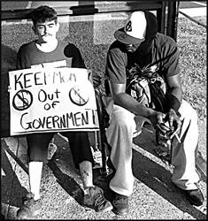 Occupy Louisville II by jackcomstock