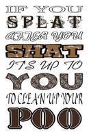 If You Splat by 12monthsOFwinter
