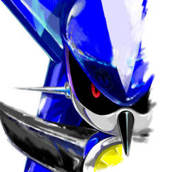 Metal Sonic by manaita