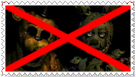 Anti Golden Freddy x Springtrap by Stamps20