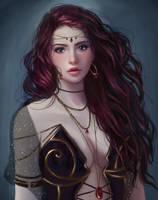 Sorceress by Juditarazo