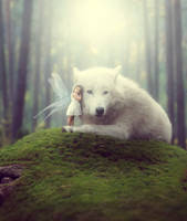 Fairy Wolf by Zalthy