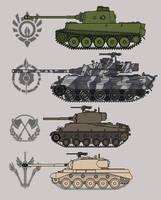 Tanks in the Great War by NickShepard117