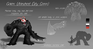 RWBY: Grimm Classification: Golem by NickShepard117