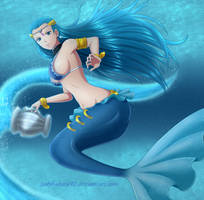 The Water Bearer - Aquarius by ladybakura92