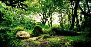 Sleeping giantess by daemon-spyder