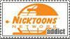 Nicktoons Network Addict stamp by Zim-Shady