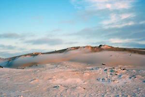 Aekinger Zand winterscape 3 by Dewfooter
