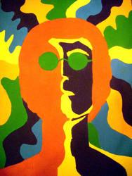 John Lennon by creepysarah