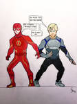 World's Finest Speedsters by CaptainSguiggle