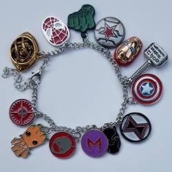 Marvel Bracelet (Aka the coolest gift ever!) by CaptainSguiggle