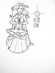 Bluestar by CaptainSguiggle