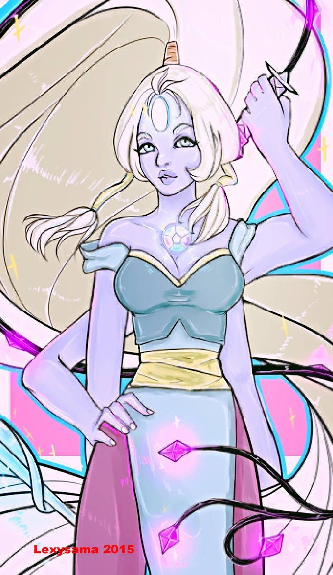 """All I wanna do, is see you turn into, a Giant Woman."" Opal from Steven Universe. DO NOT STEAL OR POST ANYWHERE WITHOUT MY PERMISSION"