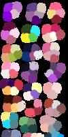 Random Color Palettes by Sebbins