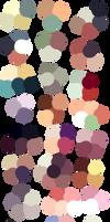 Random Color Palettes 6 by Sebbins