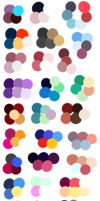 Random Color Palettes 7 by Sebbins