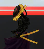 Samurai by OneSpeechless
