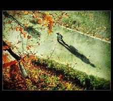autumn walk by Trifoto
