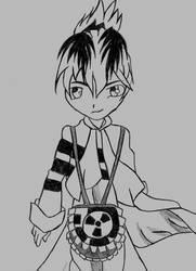 Toxic Ichiro Detail by Pyxiel