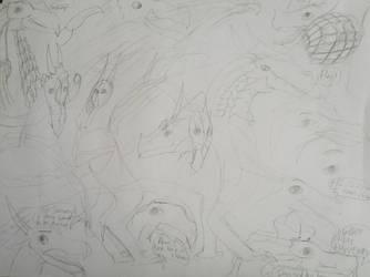 SandWing sketches by Quetzal-Queen