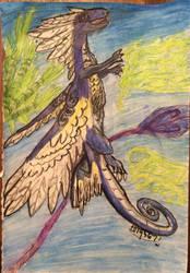 Jay the Coatl by Quetzal-Queen
