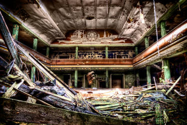 Abandoned Theatre I by Matthias-Haker