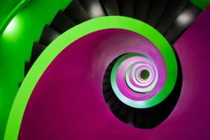Magenta Green II by Matthias-Haker