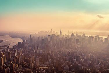 New York City Haze by Matthias-Haker