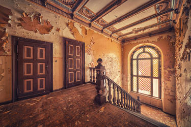 Golden Steps by Matthias-Haker