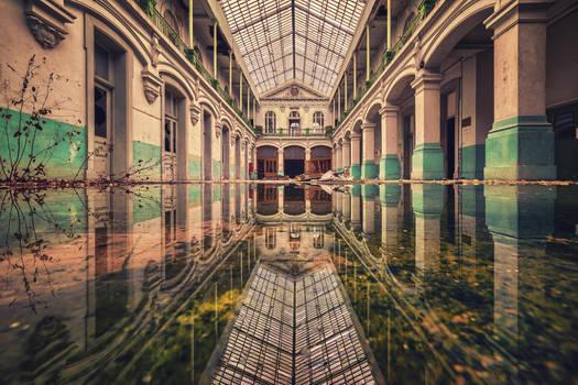 Mirror, Mirror on the Floor by Matthias-Haker