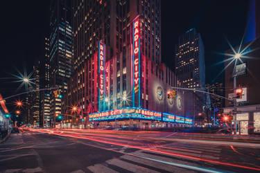 Radio City Music Hall by Matthias-Haker