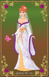 April O'Neil - Apritello wedding kimono by Shfuturebway4real