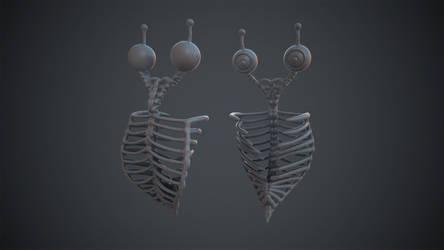 Skeleton Bug (Oculus Medium) by KevinLongtime