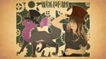Wolftale Art  Nouveau by Samoht-Lion