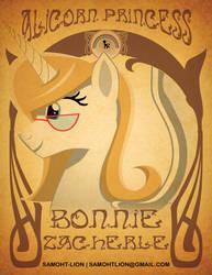 Bonnie Zacherle Art Nouveau by Samoht-Lion