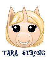 Tara Strong Pony Emoji by Samoht-Lion