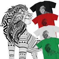 Simba Tribal Design by Samoht-Lion
