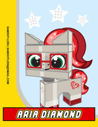Aria DIamond Lego by Samoht-Lion