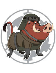 Pumba Empire Mud Trooper by Samoht-Lion