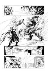 Marvel Sample Page: Avengers Assemble #17 by ARIELAkris