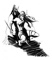 Elektra sketch by ARIELAkris
