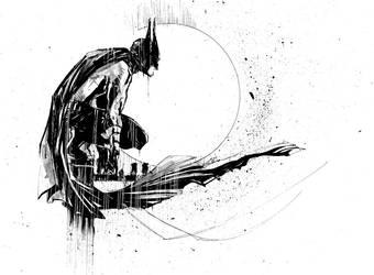 Batman #468 by ARIELAkris